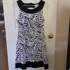Candie's black and white dress